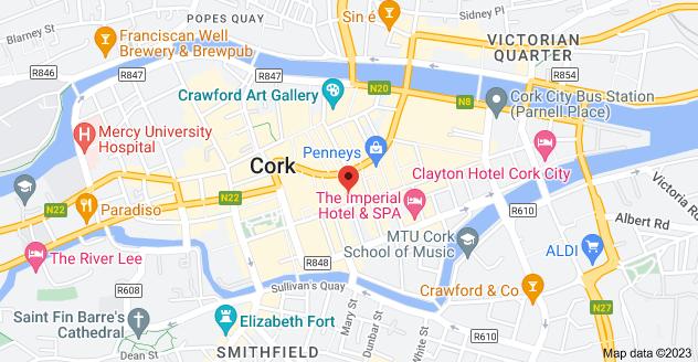 Map of 11 Marlboro St, Centre, Cork